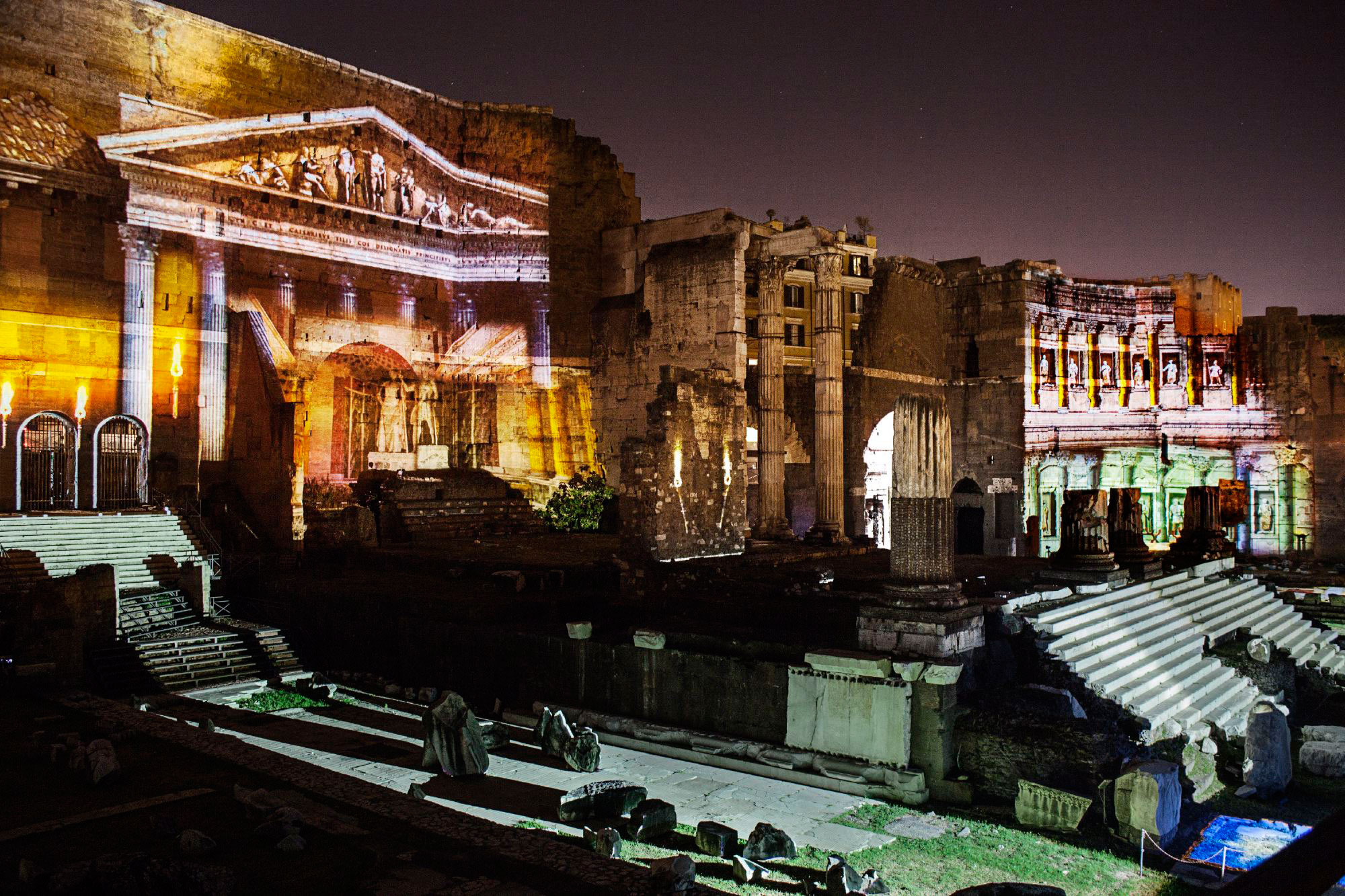 workshop night street photography Rome